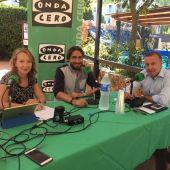 Joan Mesquida acompaña a la periodista Elka Dimitrova en un programa especial de Onda Cero Mallorca