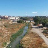 Área del río Vinalopó a su paso por Elche en la que se quiere actuar