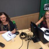 Mae de la Concha en los estudios de Onda Cero Mallorca