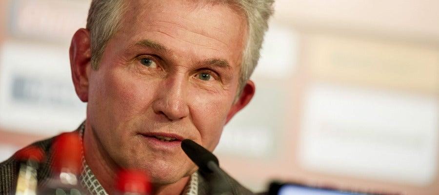 Jupp Heynckes, en una rueda de prensa en su anterior etapa en el Bayern (Archivo)