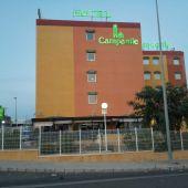 Hotel en el polígono industrial de Altabix de Elche