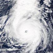 Instantánea de la NASA del huracán Ophelia
