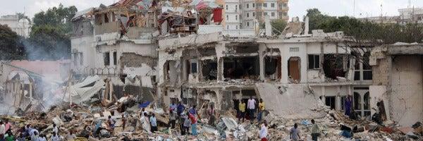 Atentado en Mogadiscio (Somalia)
