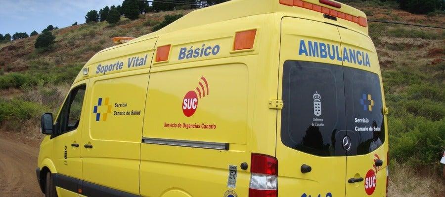Ambulancia de Soporte Vital Básico en Tenerife