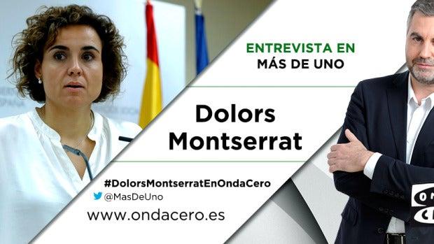 Dolors Montserrat con Carlos Alsina
