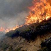 Incendio en Degaña, Asturias