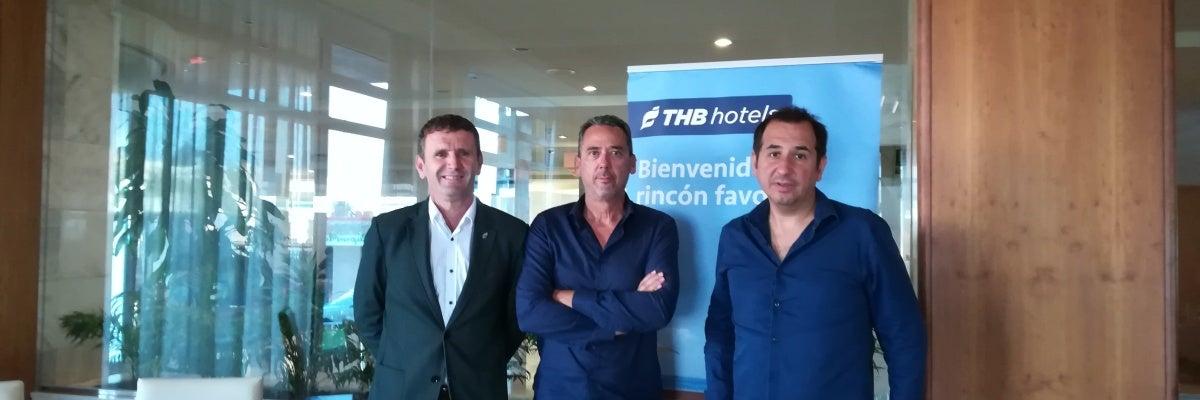 Xavi Sastre en la entrevista THB Hotels