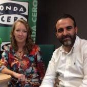 El presidente de Afedeco, Rafel Ballester, en una entrevista con Elka Dimitrova en Onda Cero Mallorca.