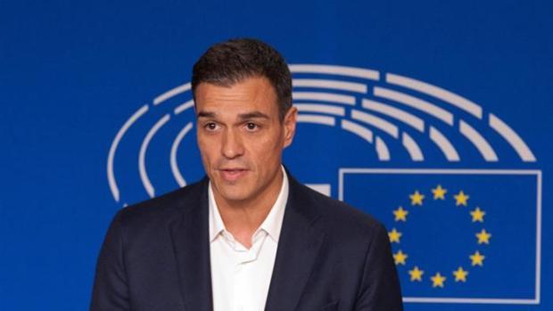 Pedro Sánchez en Bruselas