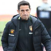 El entrenador del AEK de Atenas, Manolo Jiménez.
