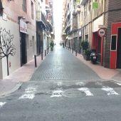 Calle San Agatángelo de Elche