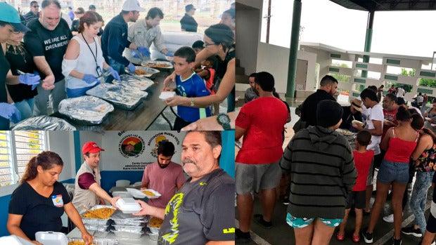 El chef José Ramón Andrés reparte un millón de comidas calientes en Puerto Rico tras el huracán María