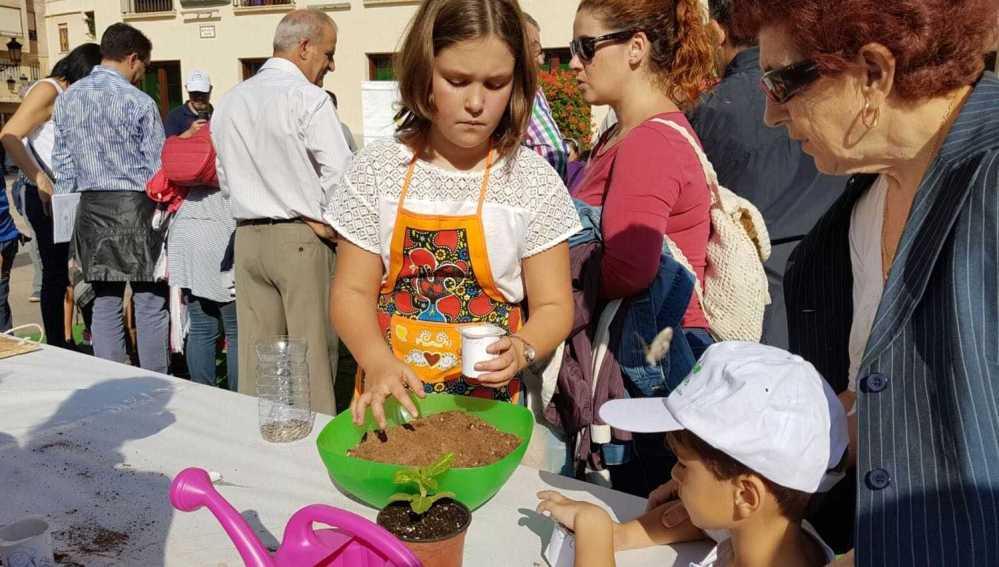 Castelló Més Sostenible muestra las ventajas de la agricultura ecológica y de los productos de proximidad entre los más pequeños.