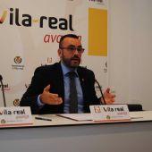 L'alcalde de Vila-real, José Benlloch, valora els presupostos de la conselleria.