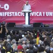 Paco Frutos, durante su intervención