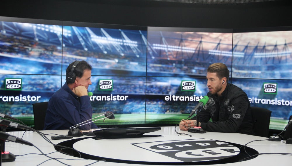 Sergio Ramos en El transistor