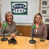Elena Faba, Presidenta del Circulo de Empresarias con Julia Otero