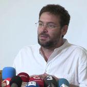 Fachin acusa a Iglesias de actuar como Rajoy con el 155 al intervenir la marca Podemos en Cataluña