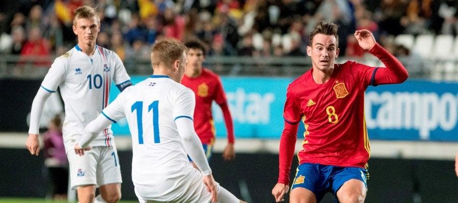 Duelo entre España e Islandia Sub-21