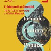 Castellón celebra la XX edición de las Jornadas de Cultura Popular del 10 al 12 de noviembre.