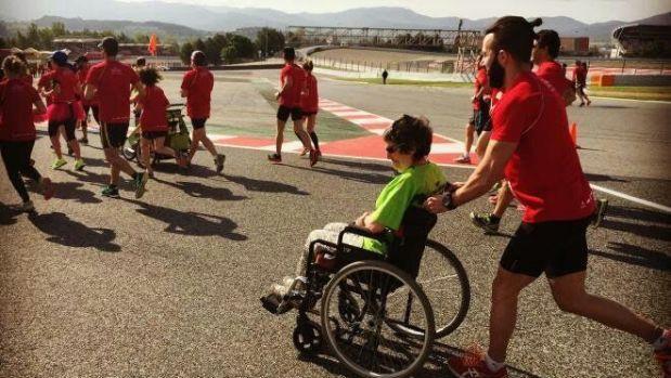 El reto de Eric: #42kmCorriemdo por la Esclerosis Múltiple