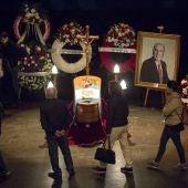 Funeral de Chiquito de la Calzada en la Parroquia de San Pablo