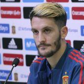 El centrocampista de la selección española de fútbol, Luis Alberto