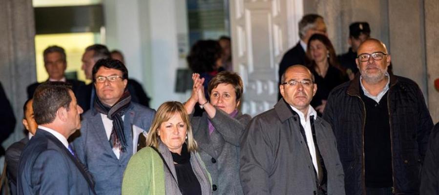 Nuet, Corominas, Guinó, Simó y Barrufet en el Tribunal Supremo