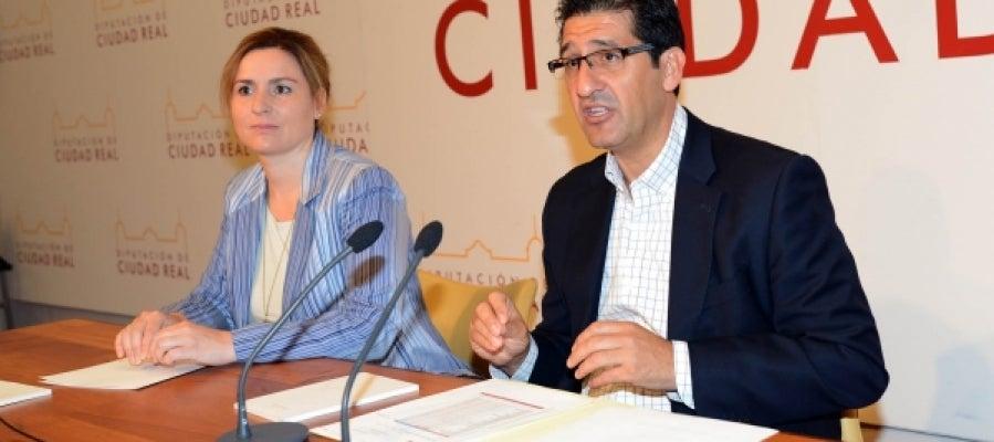 Lidia Molina y José Manuel Caballero