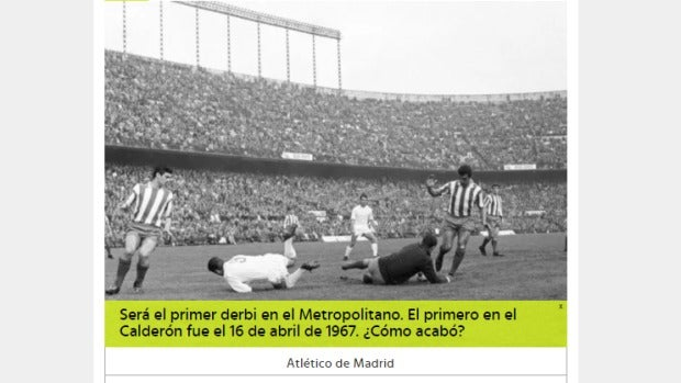 Trivial Atlético - Real Madrid