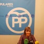 María Dolores Serna, concejal del PP en el Ayuntamiento de Elche