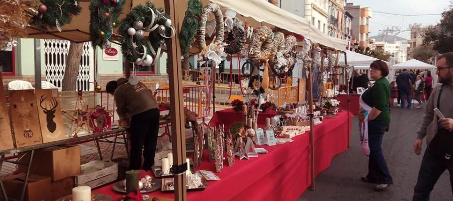 Uno de los puestos de venta en la pasada Navidad.