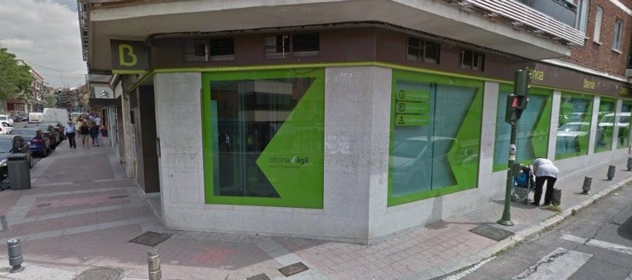 Sucursal de Bankia en Usera