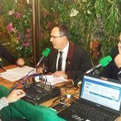 El alcalde de Torrelavega , el socialista José Manuel Cruz Viadero, nos acompaña en el Restaurante 2 Valdeses