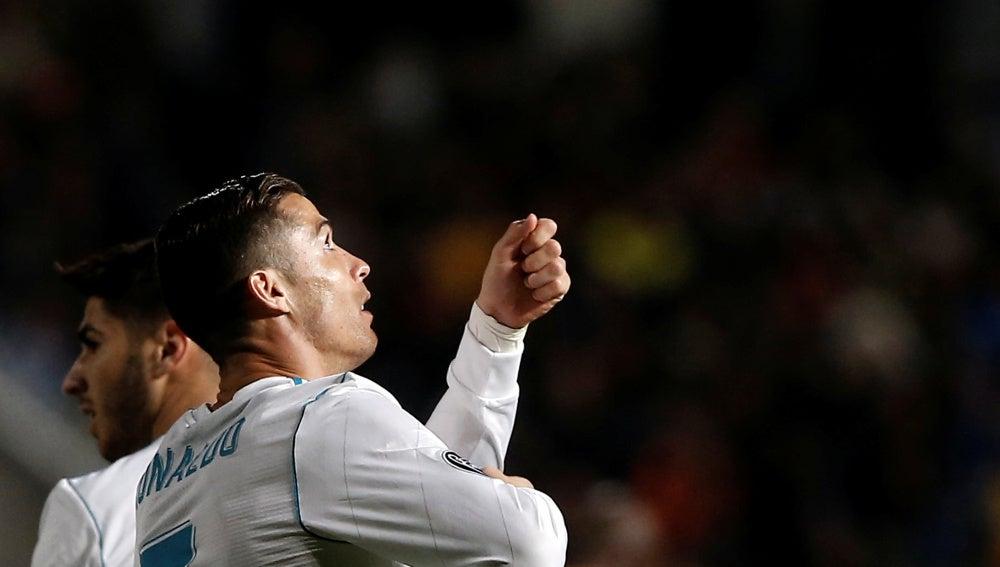 Cristiano Ronaldo y su nueva celebración que 'estrenó' ante el APOEL