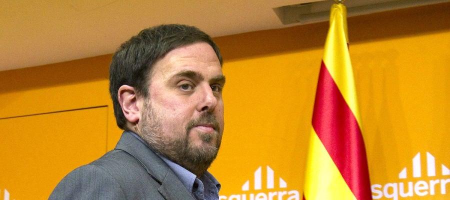 Oriol Junqueras, exvicepresidente de la Generalitat