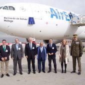 Air Europa bautiza con el nombre de Bernardo de Gálvez