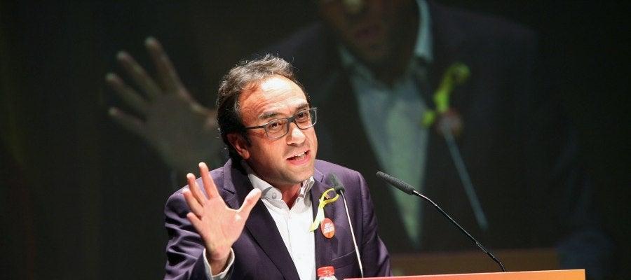 El exconseller y candidato de Junts per Catalunya, Josep Rull