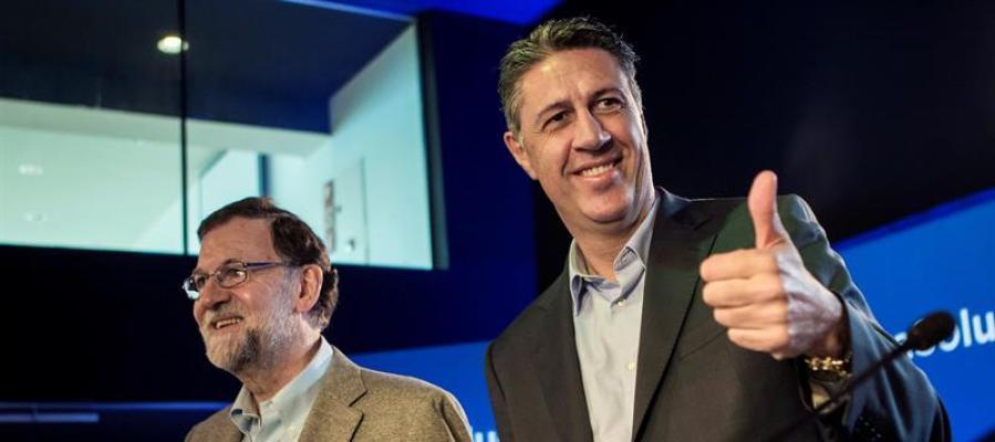 Xavier García Albiol y Mariano Rajoy