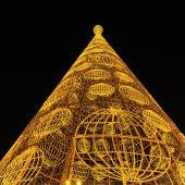 árbol de Navidad en Madrid