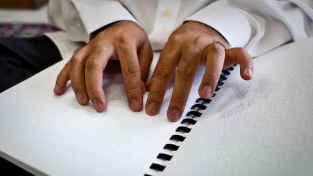 Hector Melero Martí se convierte en el primer fiscal ciego de nuestro país