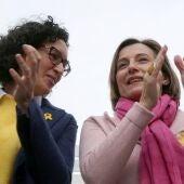 Marta Rovira y Carme Forcadell
