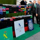 Incautan 520 kilos de cocaína en un contenedor con almendras en el puerto de Valencia