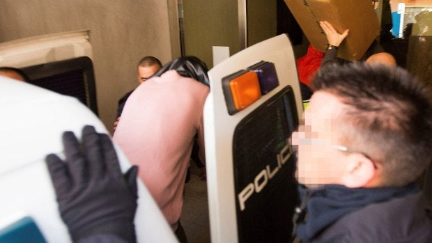 Uno de los jugadores de la Arandina acusados entra en los Juzgados