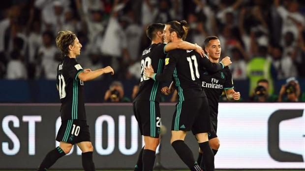 Bale marca el segundo tanto del Real Madrid ante el Al Jazira