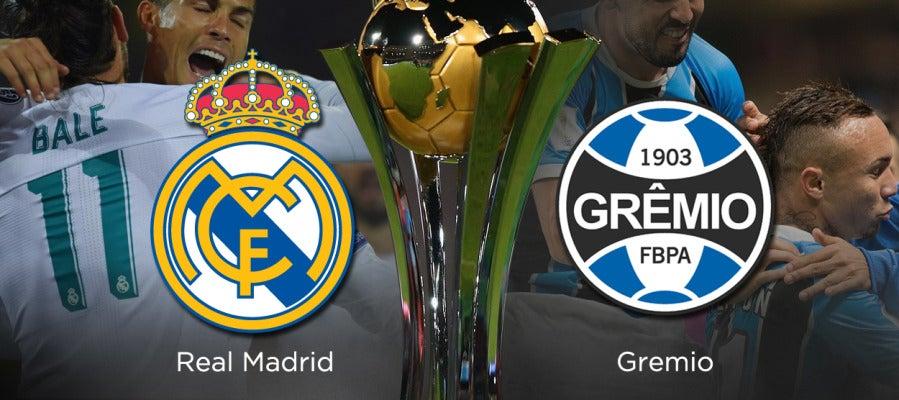 Escucha en directo el Real Madrid  Gremio en Radioestadio