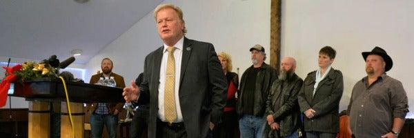 El congresista de Kentucky, Dan Johnson