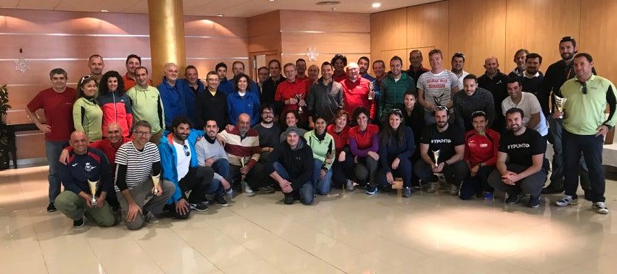 Participantes en la regata de Navidad RCN Castellón 2017