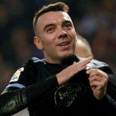 El delantero del Celta de Vigo, Iago Aspas.