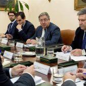 Juan Ignacio Zoido se reúne con los sindicatos policiales